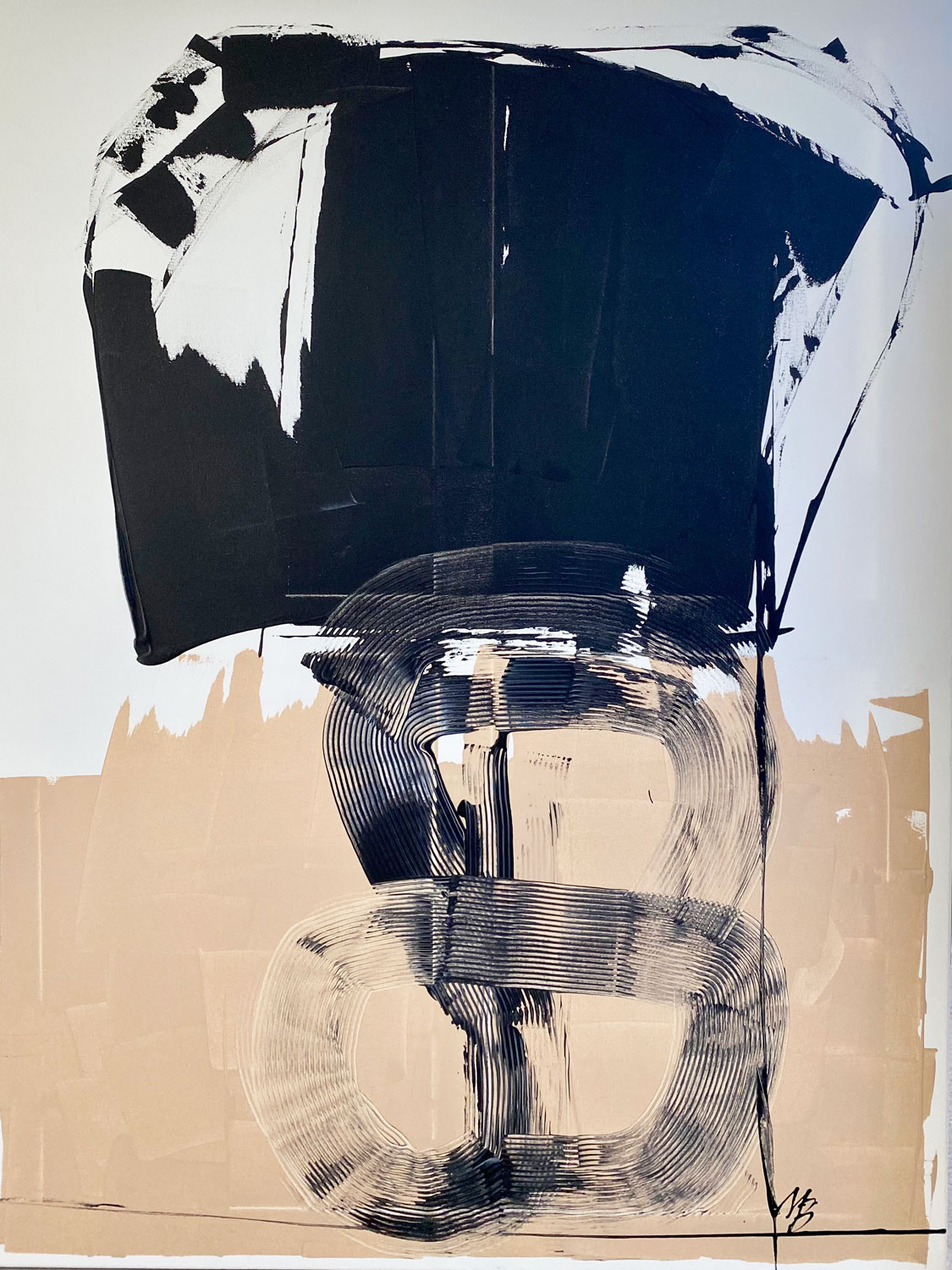 Painting by Malene Birger